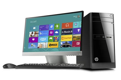 comment choisir ordinateur de bureau pc de bureau hp 110 320nfm 4021169 darty