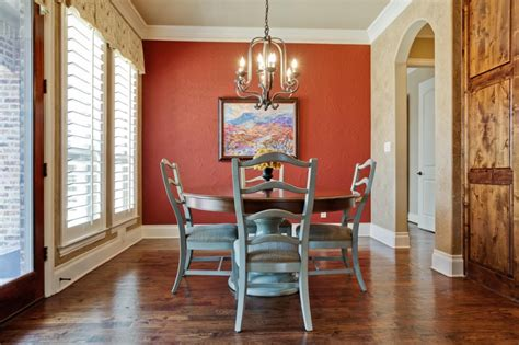 dining room  red accent wall  interior design inspiration board
