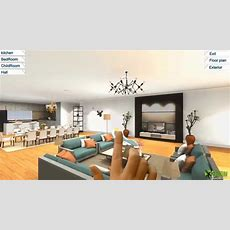 360 Virtual Reality Interior Application Experience For Touch Screen , Vr Glasses & Google