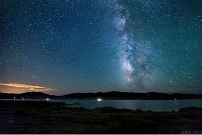 Sky Stars Night Wallpapers Galaxy Space Dark