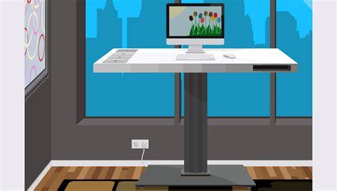 travailler debout bureau bureau debout mettez votre chaise de bureau au placard