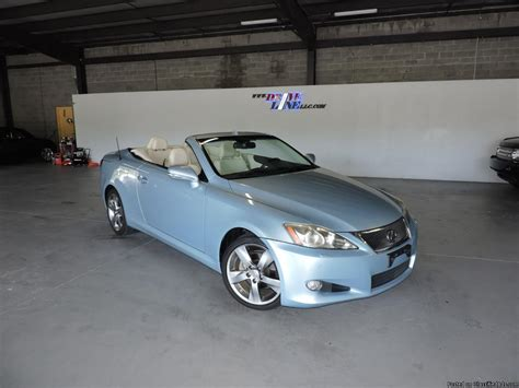 Used Lexus Convertibles by 2010 Lexus Is250 For Sale In Jacksonville Florida
