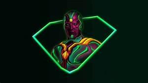 Neon, Avengers, 1920x1080, Desktop, Wallpapers, Based, On, Artwork, By, Aniketjatav, On, Instagram
