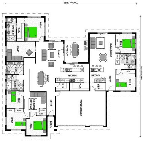 house plan  attached granny flat google search