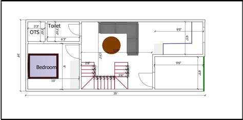 Row house plans sometimes referred to as row house designs or row house floor plans can be an row house floor plans. AP024-Small Row House Plan - Archplanest