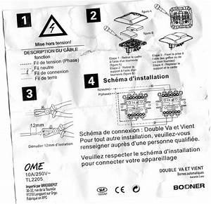 Double Va Et Vient : question lectricit conseils branchement double va et vient ~ Nature-et-papiers.com Idées de Décoration