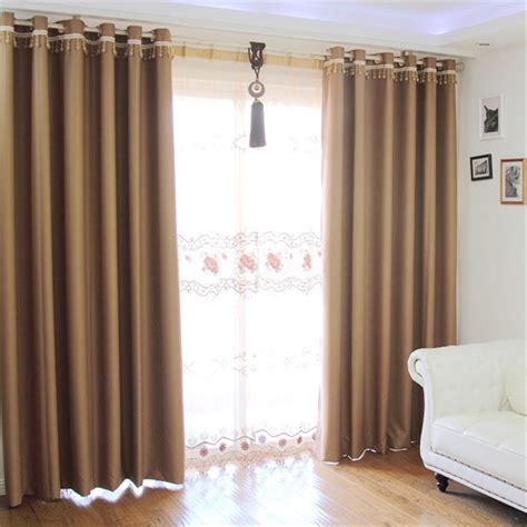 Living Room Curtain Rods Photo