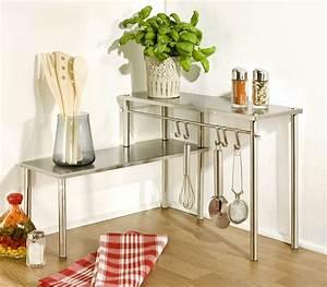 Etagere De Cuisine A Poser Sur Plan De Travail : naro na p ka kuchenna 2 poziomy wenko ~ Dailycaller-alerts.com Idées de Décoration