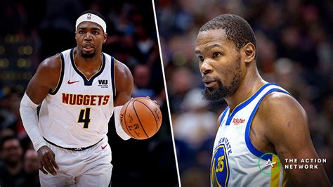 nuggets  warriors odds april    action network