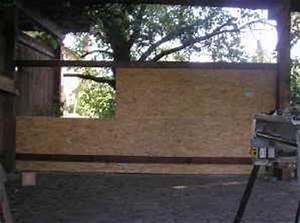 Osb Platten 18mm : carport bauen w nde fassade ~ Michelbontemps.com Haus und Dekorationen