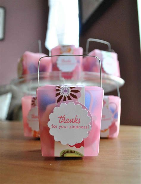 baby shower favors clearlytangled handmade baby shower favors