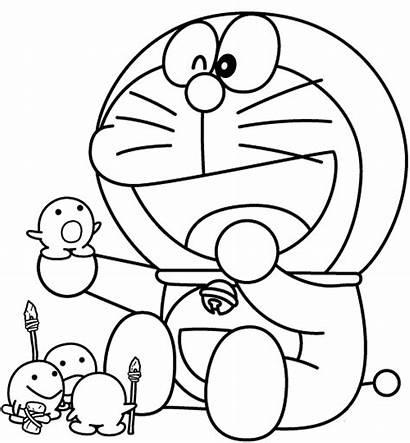 Doraemon Coloring Pages Cartoon Teen