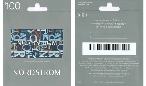 nordstrom rack credit card free 20 credit wyb 100 nordstrom gift card