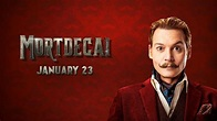Mortdecai (2015) Theatrical Trailer 2 & Character Posters ...