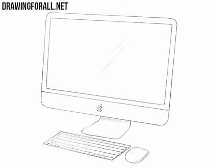 Apple Draw Drawing Imac Using Hatching Paint