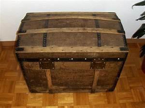 Malle En Bois : r novation d 39 une ancienne malle en bois ~ Melissatoandfro.com Idées de Décoration