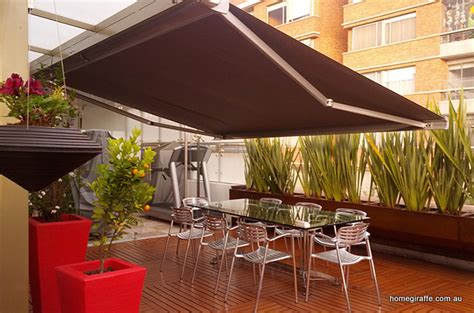 electric retractable roof awnings