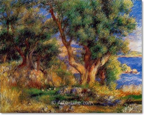 Pierre Auguste Renoir Landscape Near Menton Arte Line