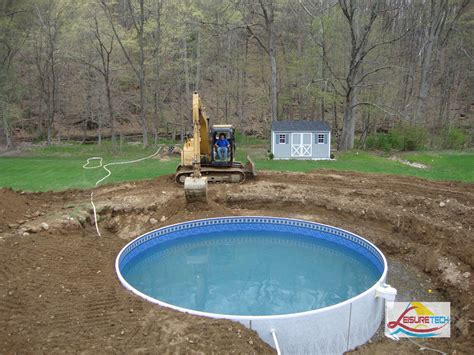Above Ground Swimming Pools Decks Ideas by Triyae Small Backyard Landscaping Ideas With Above