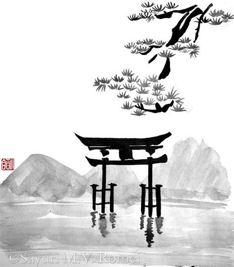 Japanisches Tor Kaufen by Torii Sumi E By Sayurimvromei On Deviantart