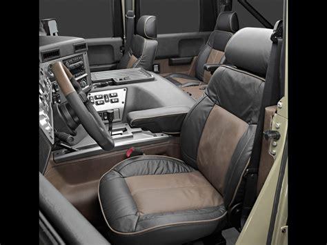 hummer interior big car