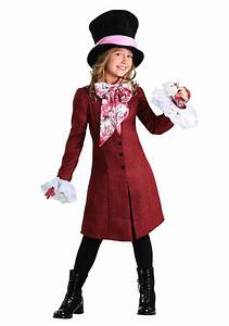 Mad Hatter Costume for Girls