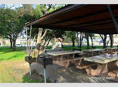 BBQ Pits & Picnic Tables at Lindberg Park Culver City