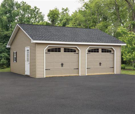Amish Built Garages for Sale   Custom Outdoor Garages in ...