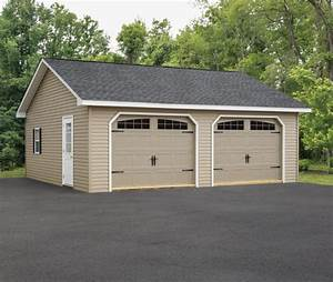 Garage Größe Für 2 Autos : custom garages for sale amish garages md pa ~ Jslefanu.com Haus und Dekorationen