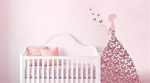 Babyzimmer Mädchen Deko : g nstige inspiration deko babyzimmer m dchen und angenehme kinderzimmer wandtattoos f r wall art ~ Sanjose-hotels-ca.com Haus und Dekorationen