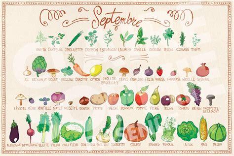 cuisine de saison septembre calendrier de fruits et légumes de saison septembre basilic et potiron