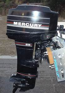 Mercury 25 Hp Long Shaft Electric Start Outboard