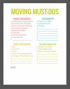 The Lovely Side: 5 Important Must-Do's Before You Move