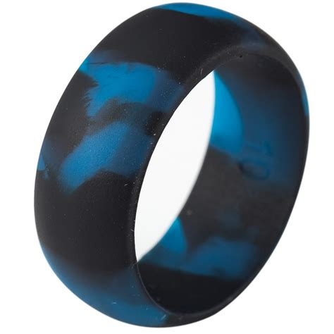 mm size   silicone ring rubber multi color hypoallergenic crossfit flexible ring band