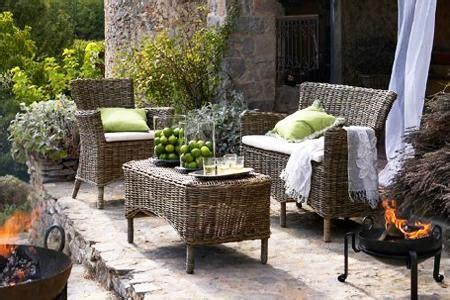deko ideen terrasse rattan tisch bild 17 living at home