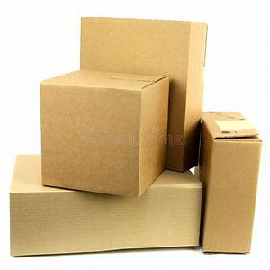 Pile Of Boxes Iii Stock Photo  Image Of Order  Parcels