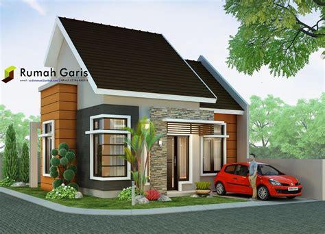 ide desain rumah minimalis luas tanah  meter