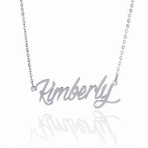 customized women name necklace letters necklace gift With name necklace individual letters