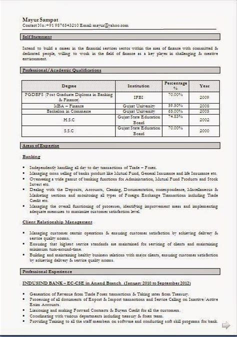 Excellent Cv Exles by Cv Personal Statement Exles Sle Template Of