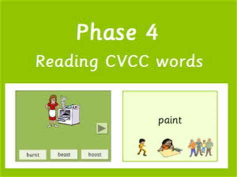 Eyfs Ks1 Ks2 Teaching Resources  Letters And Sounds Phase 4  Reading Words With Adjacent
