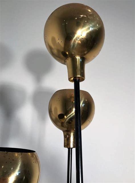 globe brass floor lamps   style  paavo tynell