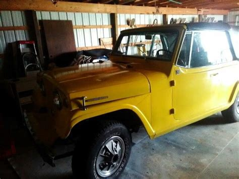 1967 jeep wrangler 1967 jeepster commando convertible with low miles