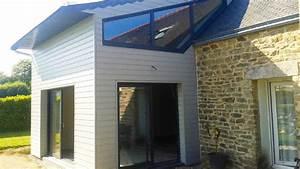 extension maison bois prix m2 exemple de realisations abbc With extension maison bois prix m2