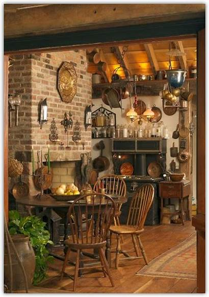 Kitchen Country Fashioned Rustic Want