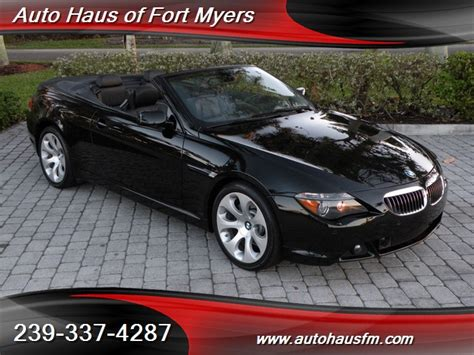2007 Bmw 650i Convertible Ft Myers Fl For Sale In Fort