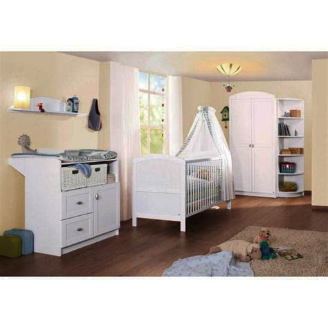 chambre bébé pinolino chambre bébé en bois laqué blanc