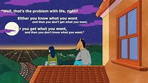 BoJack Horseman - what do you want   Makes ya think ...