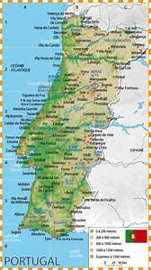 Carte du portugal du nord for Hotel lisbonne avec piscine interieure 19 carte du portugal du nord
