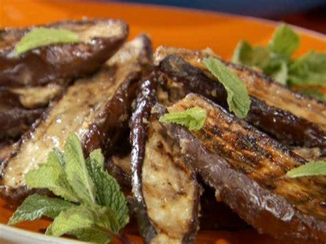 miso glazed grilled japanese eggplant recipe bobby flay