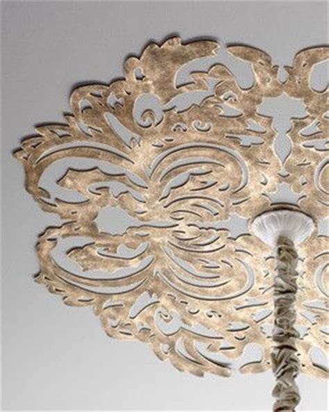 Lowes Home Improvement Ceiling Medallions by Lace Pattern Ceiling Medallion Traditional Stencils What
